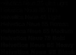 250px-Helvetica_Neue_typeface_weights
