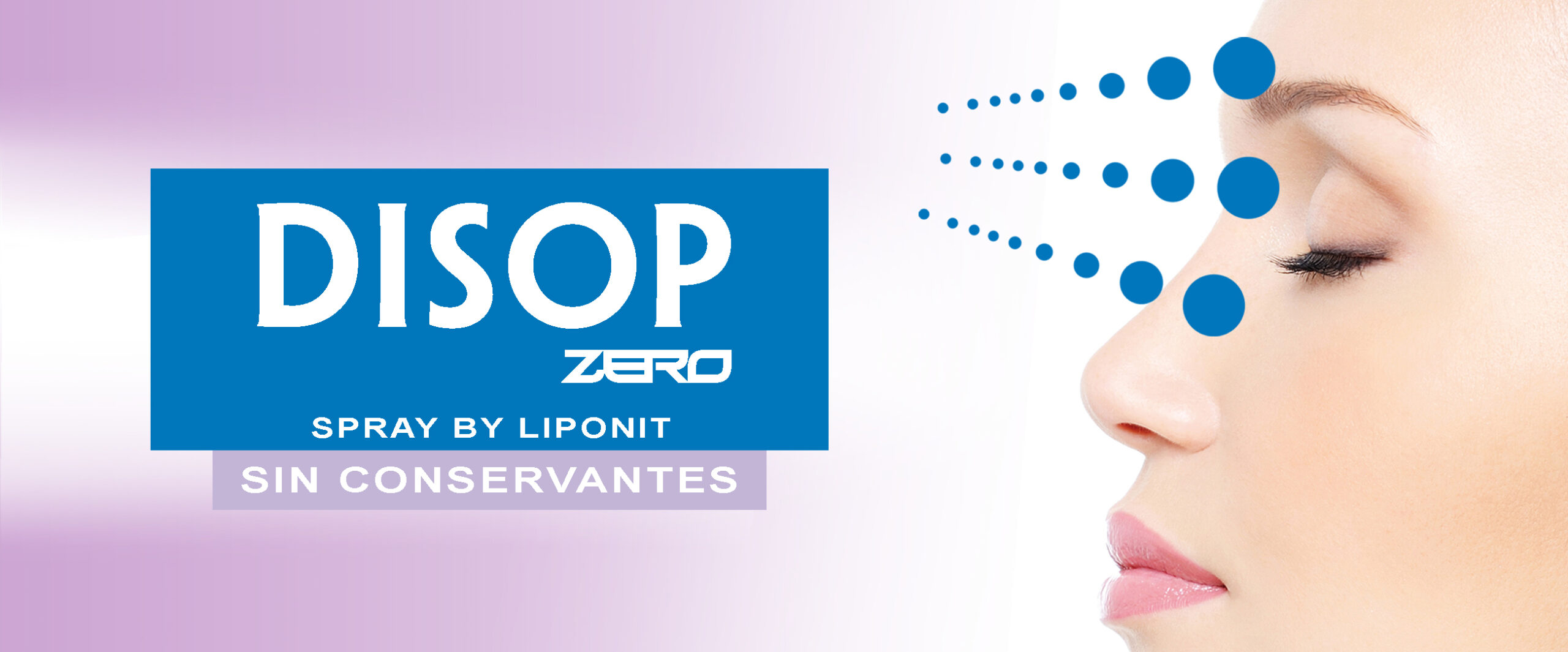 Spray de Liposomas y Lentes de Contacto